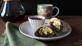 Mushroom Breakfast Burritos | Chez Us