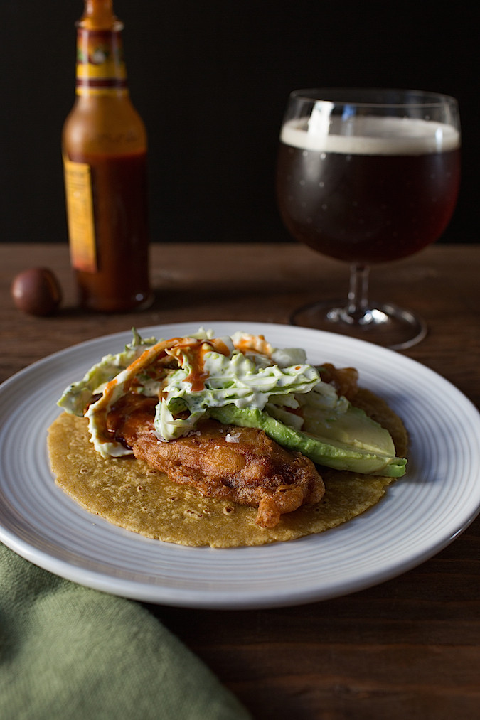Perfect Crispy Fish Tacos  |  Chez Us