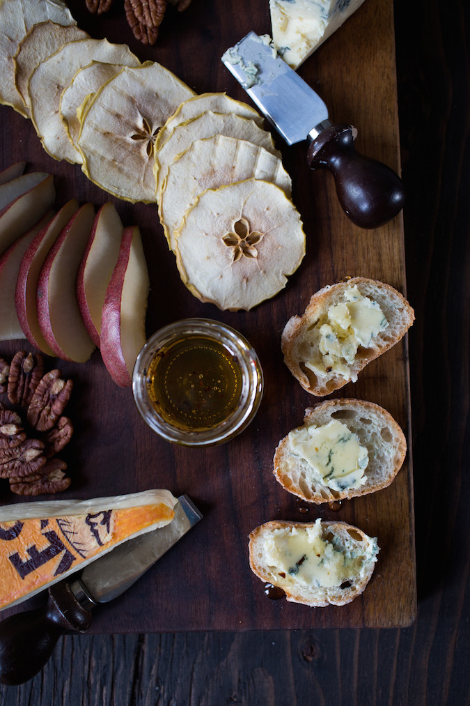 Perfect Cheese Board with Truffle Honey