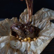 Merguez Lamb Shanks and Chickpeas