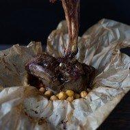 Merguez Lamb Shanks and Chickpeas