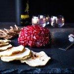 Za'atar Pomegranate Cheese Ball