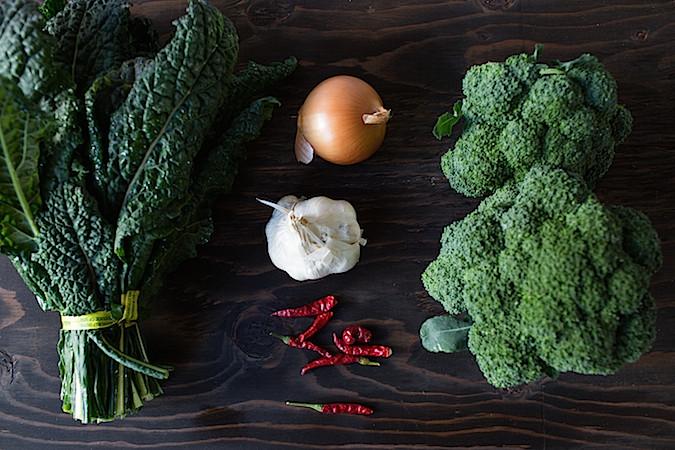 Creamy Non-Dairy Broccoli Kale Soup