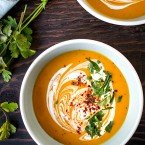 Creamy Thai Curry Kabocha Soup