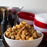 Hot Honey Chex Mix