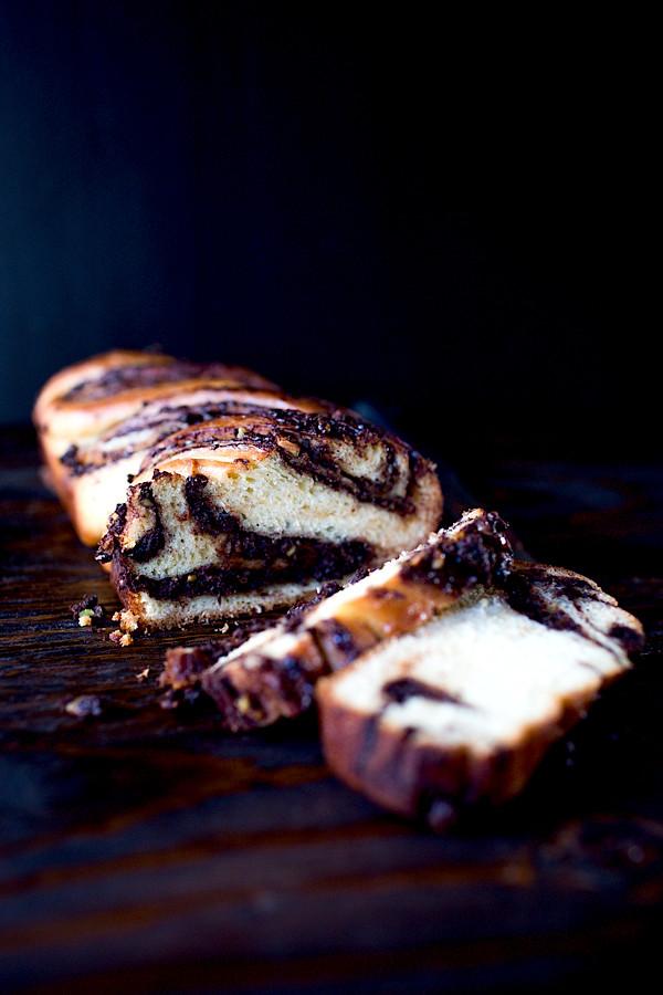Chocolate Cherry Pistachio Krantz Cakes