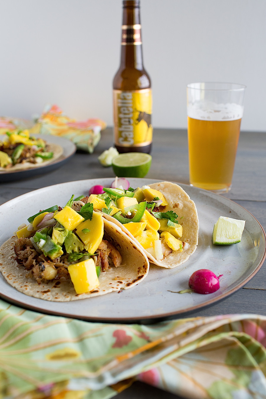 Tequila Lime Chicken Tacos - Chez Us