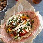 Zucchini Pepper Tacos