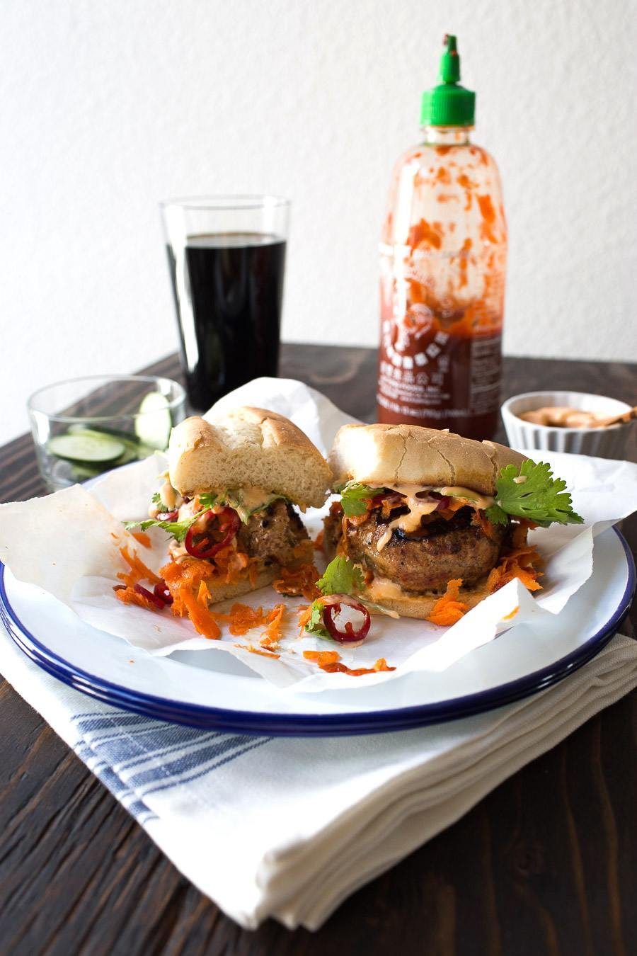 Banh Mi Pork Burger