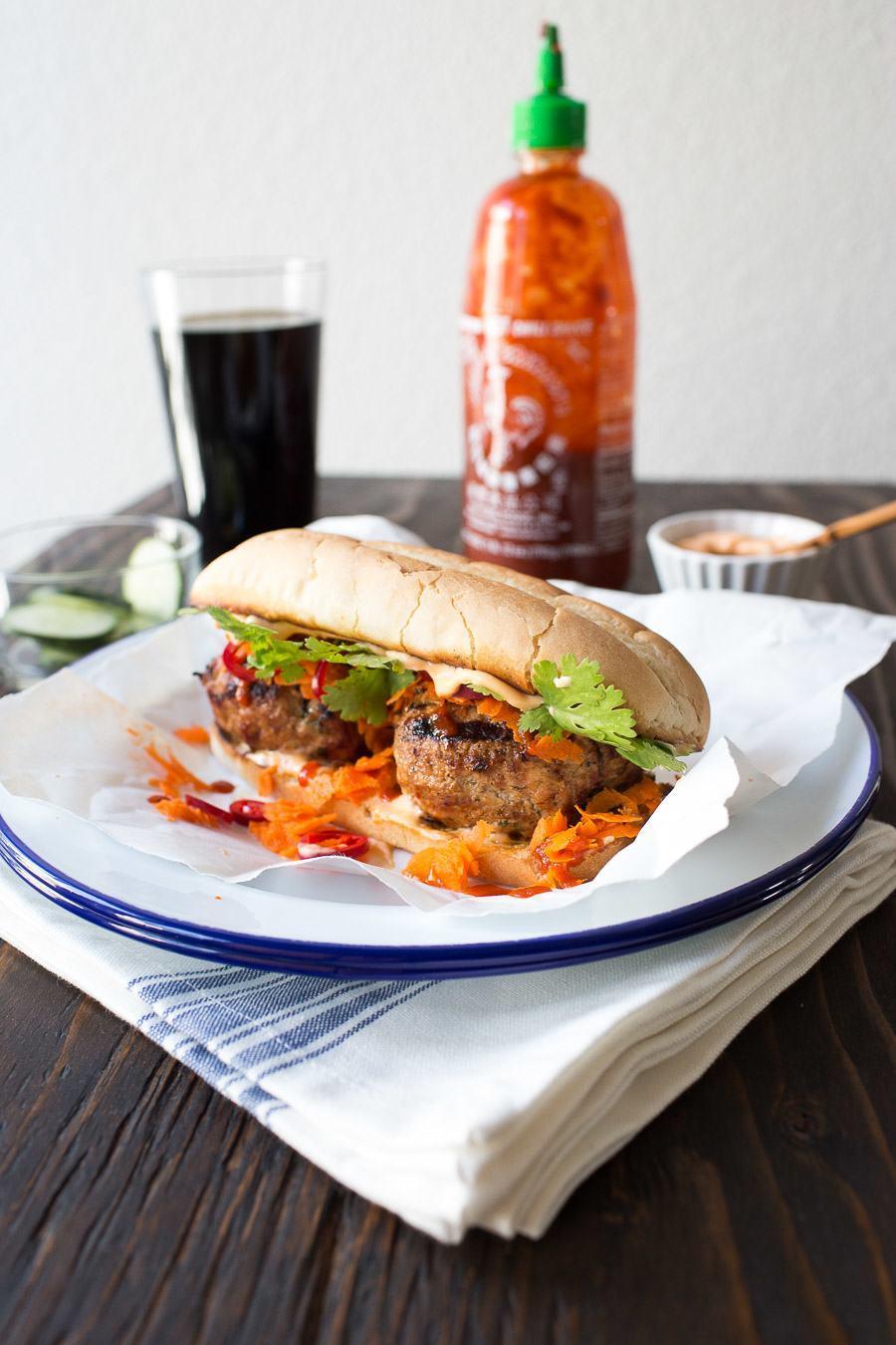 Banh Mi Pork Burger