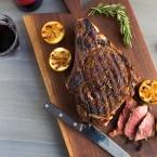 Italian Style Grilled Rib Eye Steak