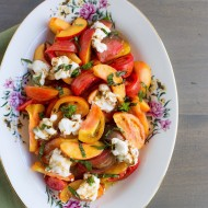 Heirloom Tomato Nectarine Salad