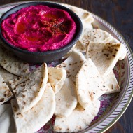 Spicy Roasted Beet Hummus