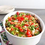 Three Bean Taco Casserole