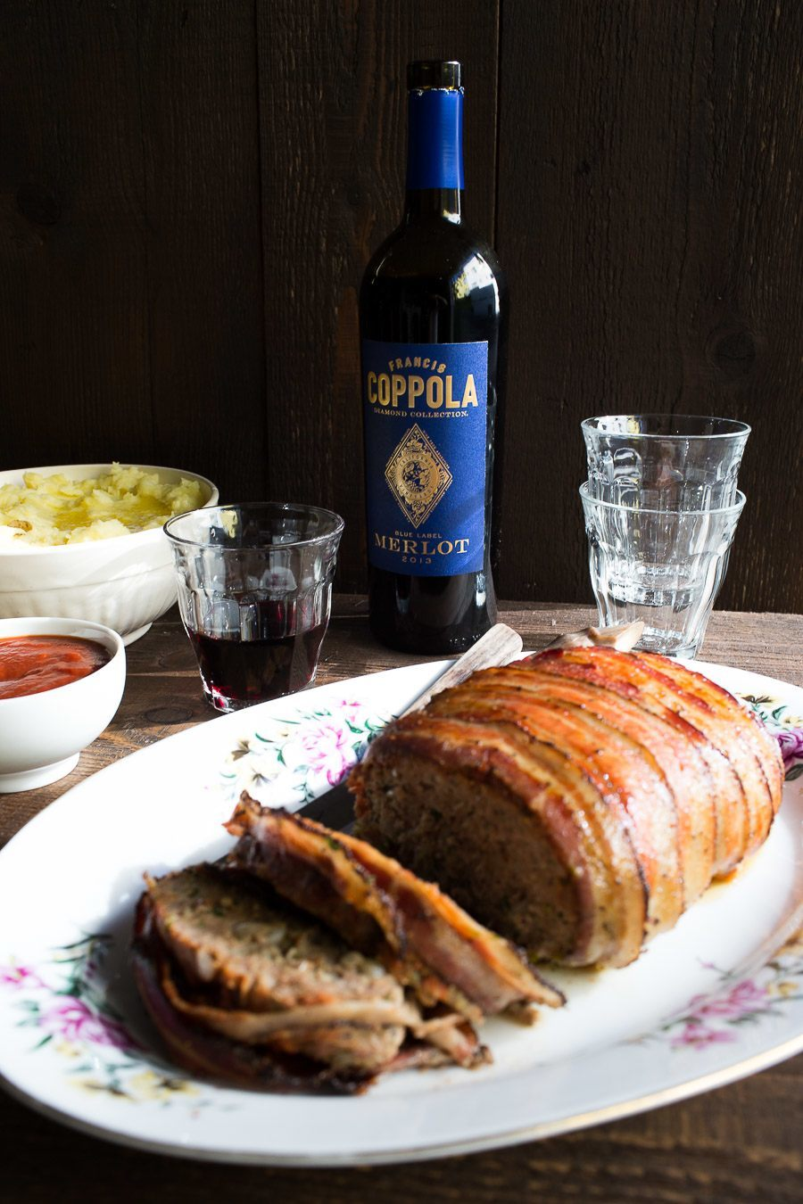 Old Fashioned Beef Meatloaf Coppola -3