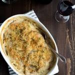 Potato and Celeriac Root Dauphinoise