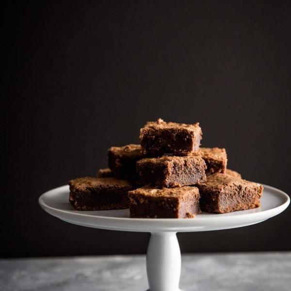 Fudgy Espresso Brownies