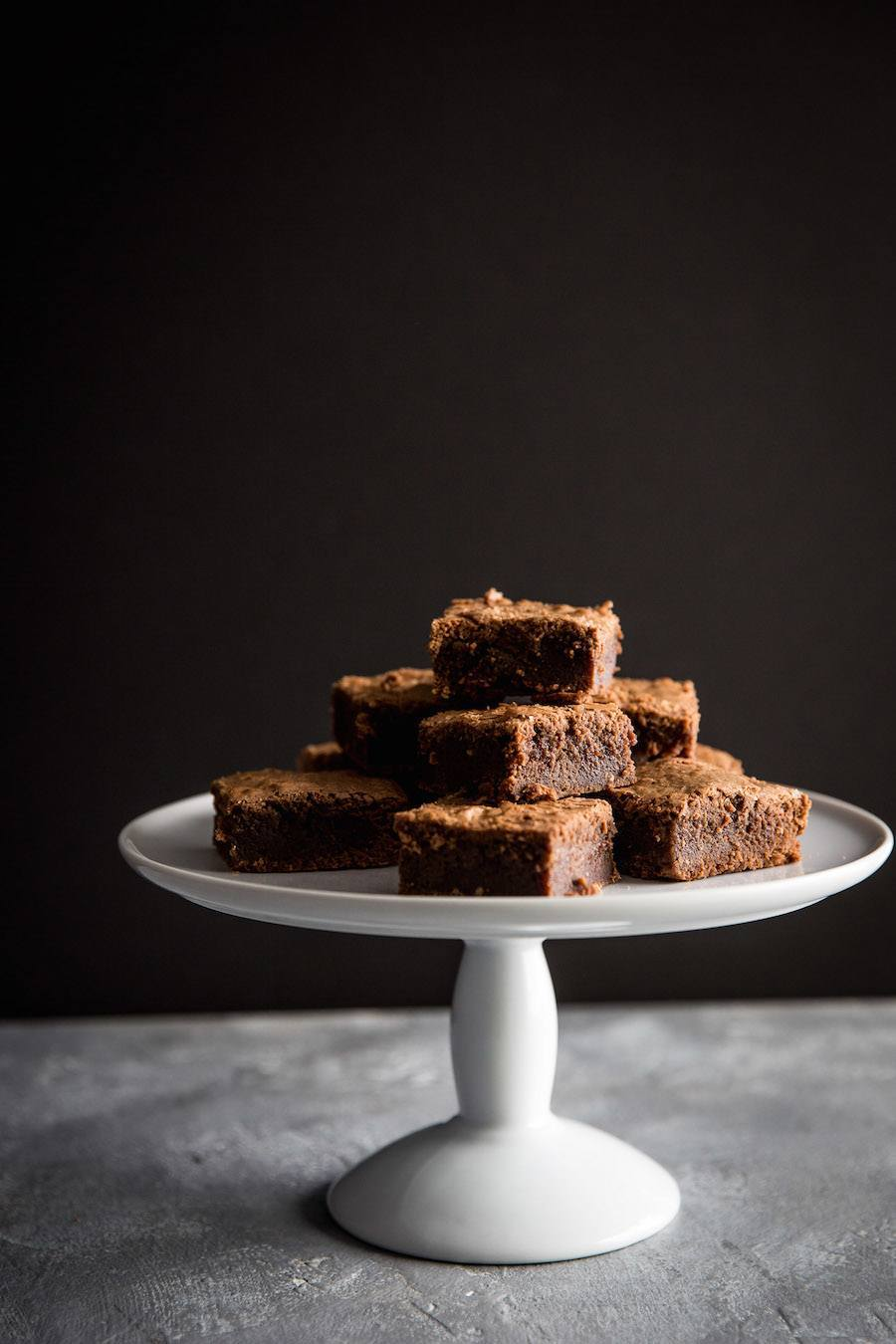 Fudgy Espresso Brownies