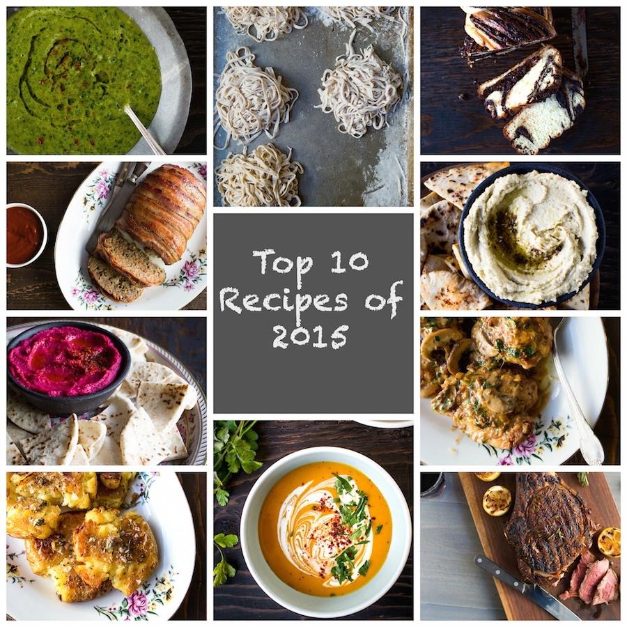 Top 10 Recipes of 2015 Chez Us