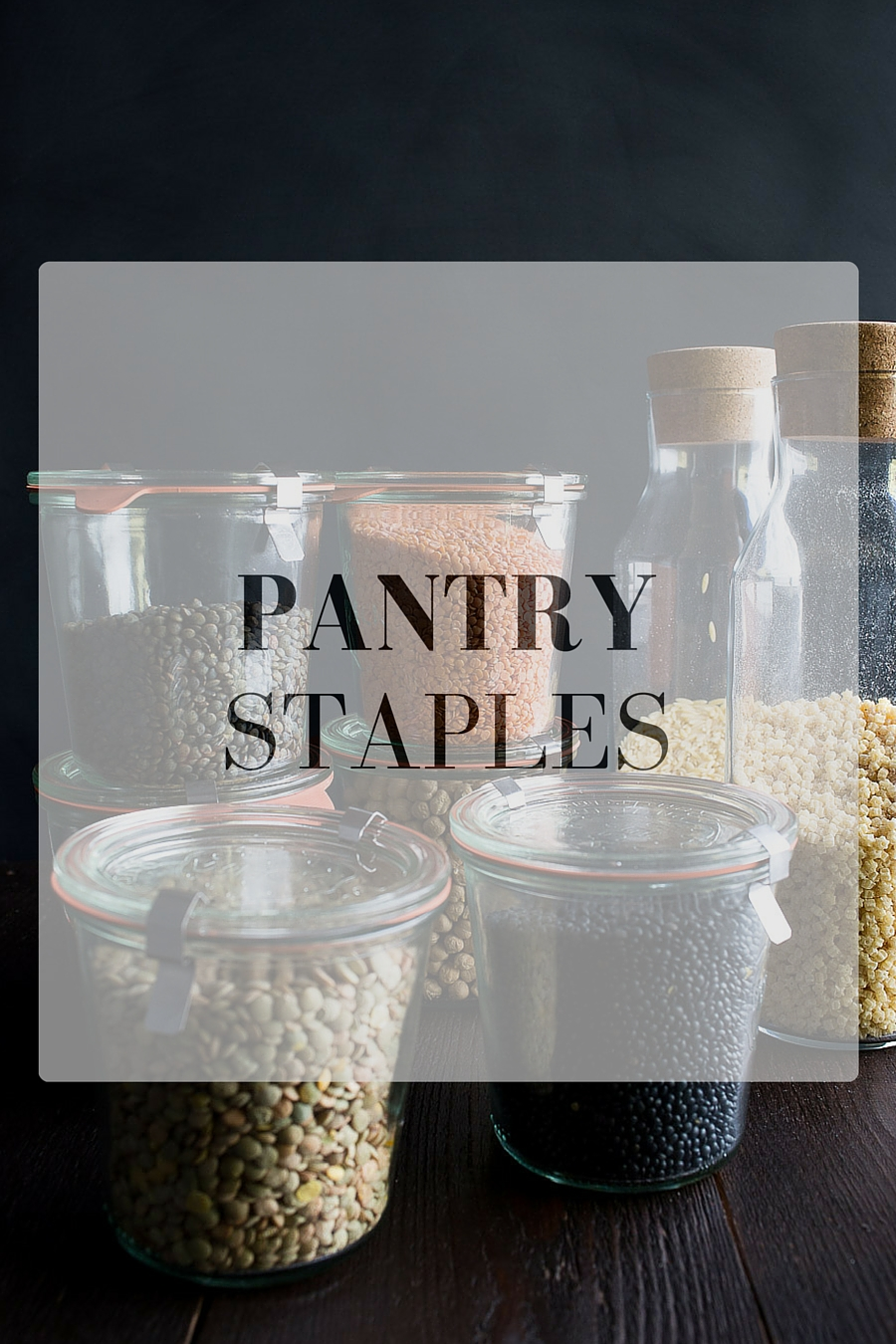 Small Open Pantry