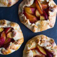 Sweet Harissa Peach Crostata