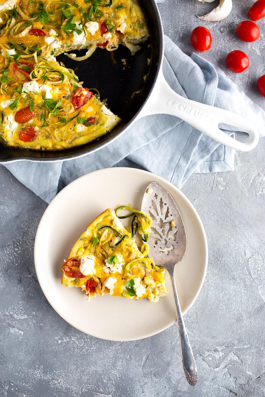 Zucchini Fennel Frittata