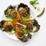 Asian Mushroom Chicken Patties