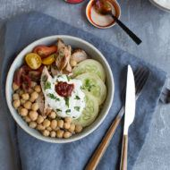 Middle Eastern Chicken Bowls