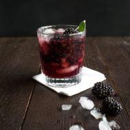 Blackberry Sage Bourbon Smash