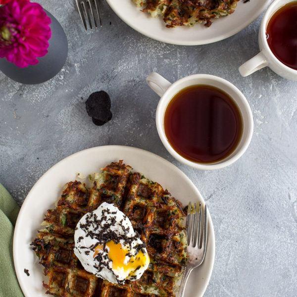 Truffle Potato Waffles