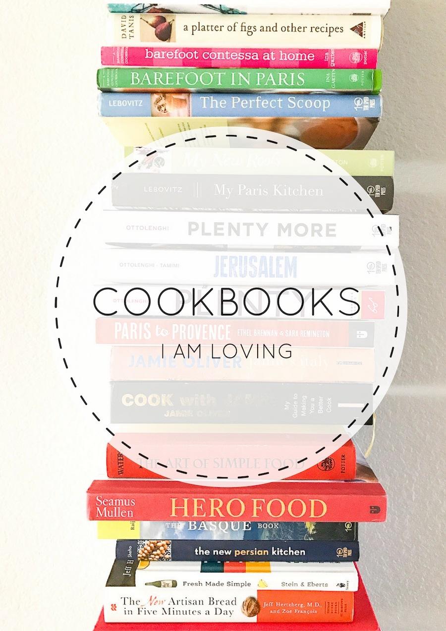 Cookbooks I am loving