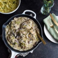 Creamy Dijon Chicken and Mushrooms