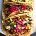Slow Cooker Chicken Bean Tacos