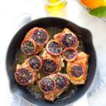 Blood Orange Rosemary Chicken Thighs