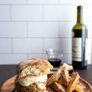 Lam-burg-hini an Italian Style Lamb Burger