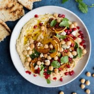 Loaded Winter Squash Hummus
