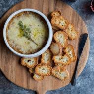 Amber Ale French Onion Soup Dip