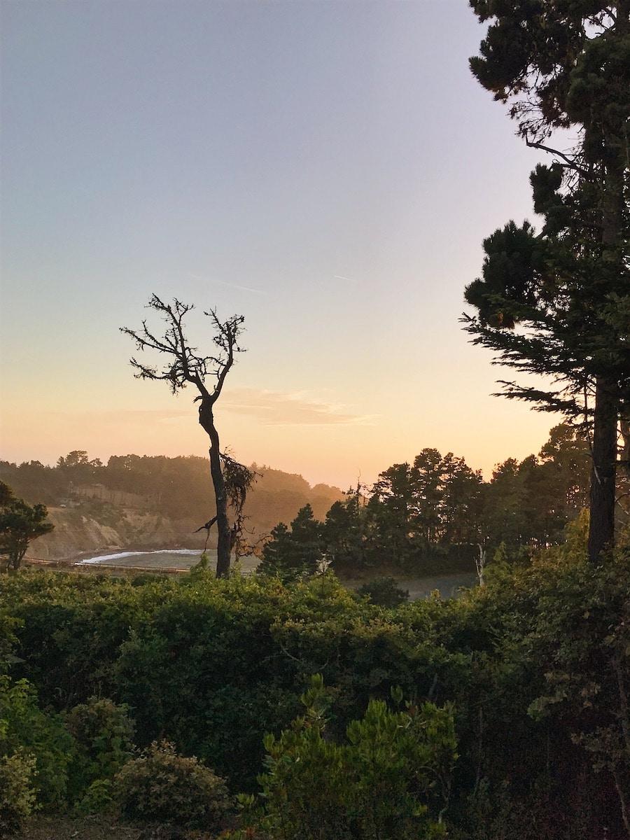 Mendocino Coast sunset