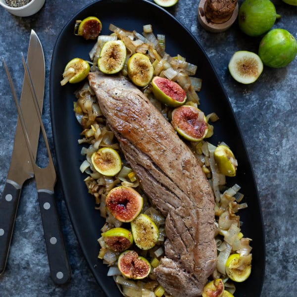 Roasted Pork Tenderloin with Figs
