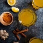 Ginger, Turmeric, Lemon Detox Tea