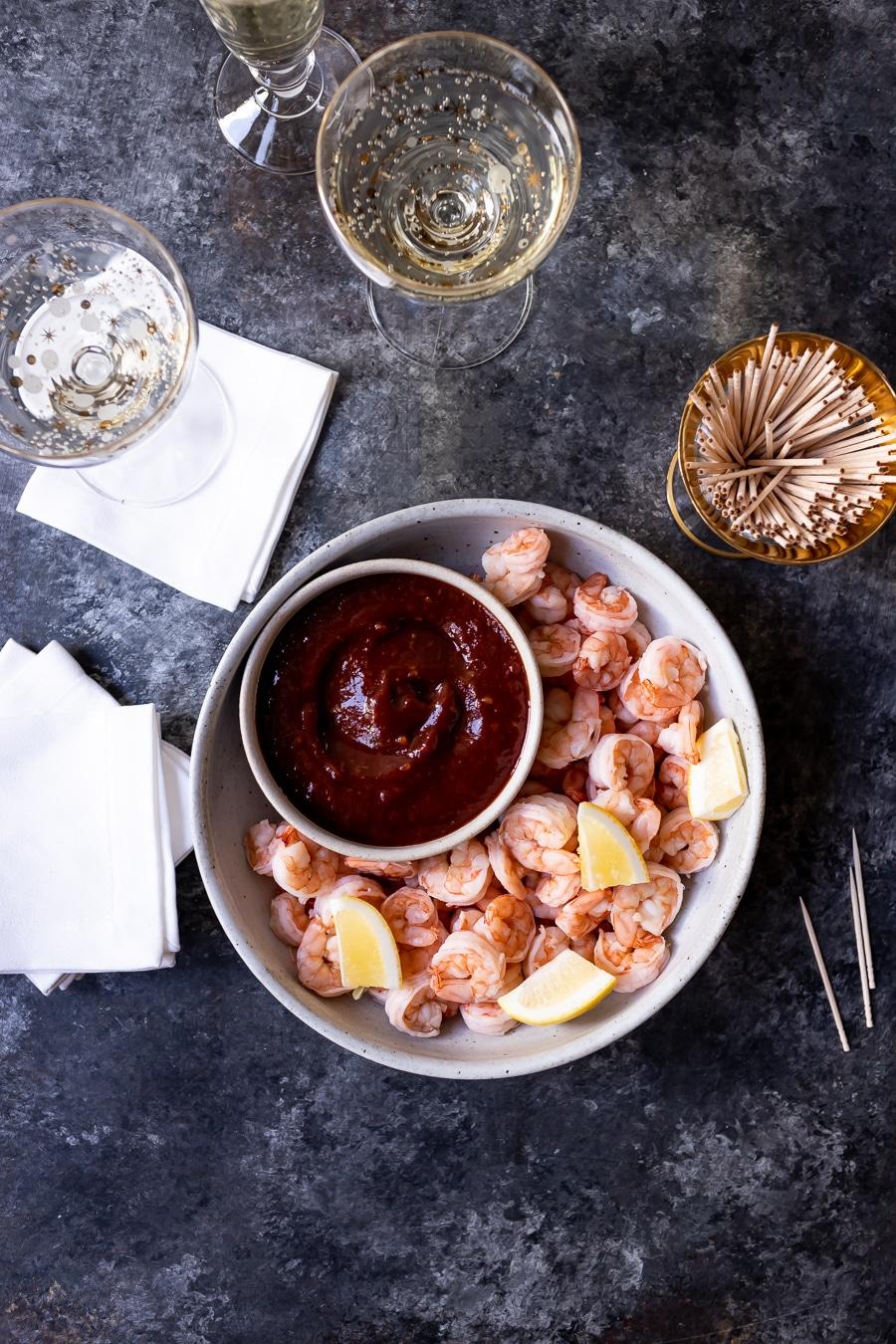 Super Easy Shrimp Cocktail
