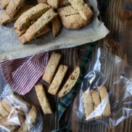 Orange Cherry Biscotti
